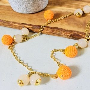J. Crew Beaded Ball Necklace